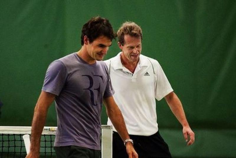 Stefan e Roger ai tempi della loro collaborazione