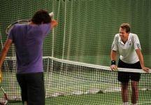 Roger Federer ha cercato di fermare Edberg anche nel 2016