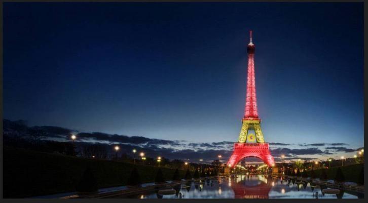 La vittoria di Rafael Nadal al Roland Garros. La Torre Eiffel si illumina con i colori della Spagna