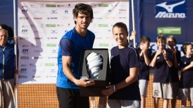 Si è concluso il torneo di Torino. Vittoria di Gastao Elias - Foto Anna Miletti
