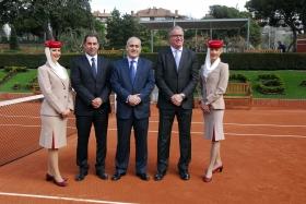 Emirates ha siglato un'altra importante sponsorship in Spagna supportando l'Open di Barcellona