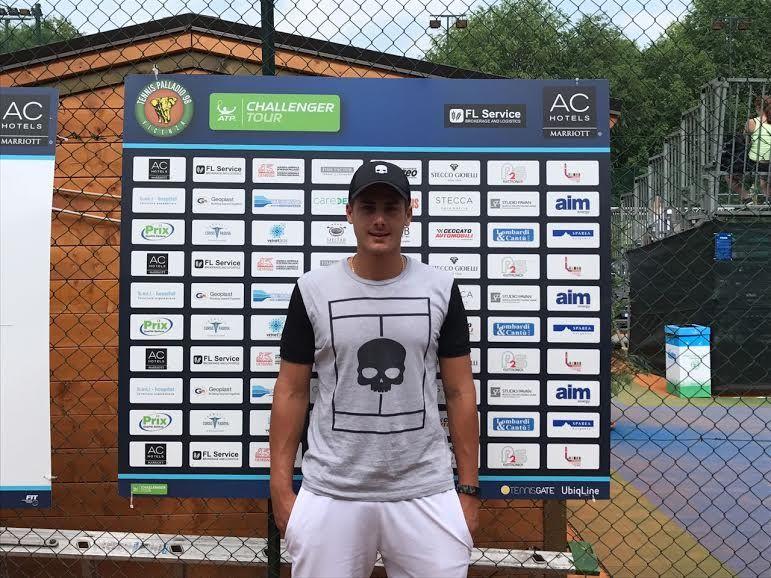 Edoardo Eremin classe 1993 e n.383 ATP