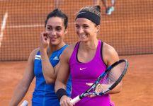 WTA Roma, doppio femminile: Errani/Trevisan sconfitte al secondo turno