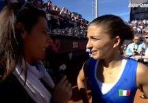 Fed Cup – Finale Italia vs Russia 4-0: Parla Sara Errani dopo aver messo a segno il punto decisivo