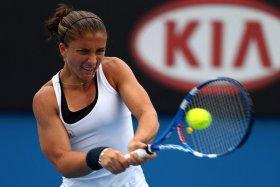 Sara Errani al primo quarto di finale in un torneo dello Slam