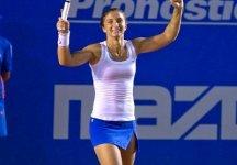 In Foto la finale del WTA di Acapulco tra Sara Errani e Flavia Pennetta