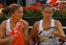 Masters 1000-WTA Roma: Risultati Finali. Livescore dettagliato. Dopo quattro game Sara Errani si ritira nel doppio