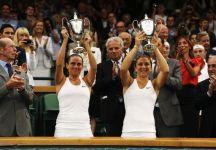 Sara Errani e Roberta Vinci vincono il premio dalla WTA come doppio dell'anno