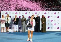 """Sara Errani ed il successo a Dubai: """"Pensavamo di dare forfait, di stare a casa e di recuperare per migliorare il mio gioco. Ma siamo venuti qui, e ogni giorno è stato davvero difficile"""""""