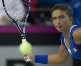 Live la partita dell'Italia in Fed Cup