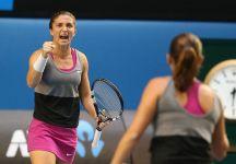 Sara Errani e Roberta Vinci salvano tre match point a Jankovic-Kleybanova e conquistano le semifinali a Doha
