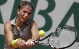 Sara Errani non conferma la semifinale parigina dello scorso anno.