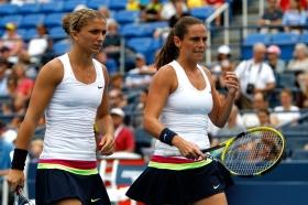 Sara Errani e Roberta Vinci, prime giocatrici della classifica di doppio.