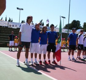 La squadra italiana