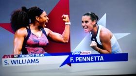 La vera finale femminile degli Us Open sarà tra Roberta Vinci e Flavia Pennetta.