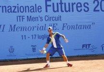 Italia F23 – Este Padova: Sei azzurri al secondo turno
