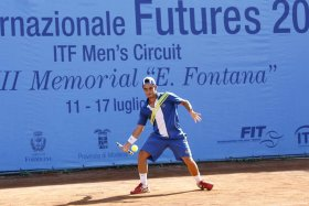 Thomas Fabbiano classe 1989, n. 306 del ranking mondiale.
