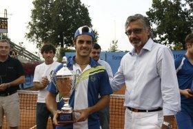 Thomas Fabbiano ha conquistato questa sera il torneo di Modena