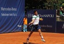 Challenger Napoli: Thomas Fabbiano esce di scena nei quarti di finale