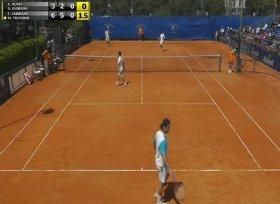 Il doppio disputato quest'oggi tra Fabbiano-Trevisan vs Giorgini-Burzi al challenger di Napoli