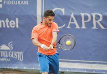 Challenger Nanchang: Thomas Fabbiano si ferma in semifinale dopo essere stato vicino alla vittoria (si è giocato indoor)