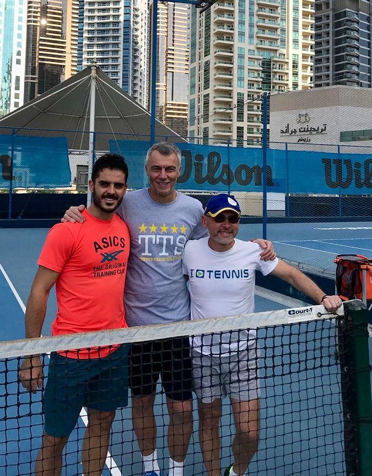 Thomas Fabbiano è a Dubai per rifinire la preparazione