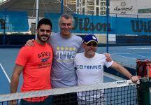 """Thomas Fabbiano è a Dubai per rifinire la preparazione: """"Insieme al mio staff abbiamo deciso di allenarci per le mie ultime due settimane di preparazione a Dubai per avvicinarmi il più possibile alle condizioni in cui si giocheranno i primi tornei dell'anno"""""""
