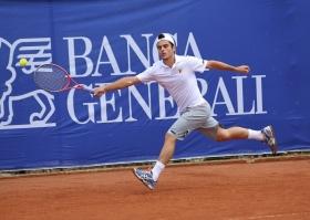 Thomas Fabbiano, 24 anni, si allena a Foligno