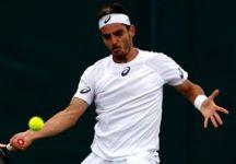 """Wimbledon: Thomas Fabbiano """"I top 50 sono abituati a battere un top ten o un top 20, io meno. Non c'è stato neppure il giorno di riposo perché il match con Wawrinka era finito solo ieri per la pioggia e ancora stamattina mi facevano i complimenti"""""""