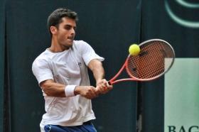 Thomas Fabbiano, classe 1989, n. 270 del ranking mondiale. Foto Paolo Cresta.