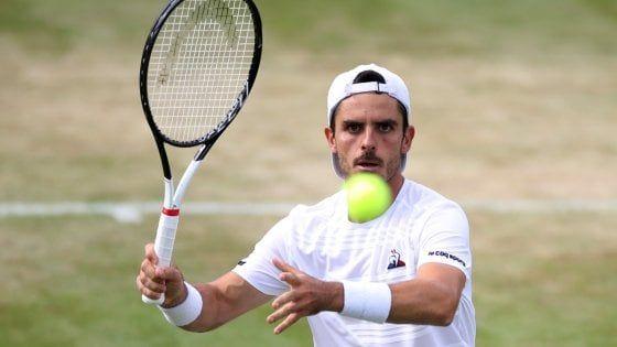 Thomas Fabbiano sull'erba di Wimbledon