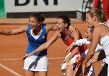 Fed Cup – Finale Italia vs Russia 4-0: Risultati Ultima Giornata. Pennetta-Knapp vincono anche il doppio