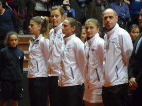 La squadra italiana di Fed Cup - Foto Lorenzo Carini