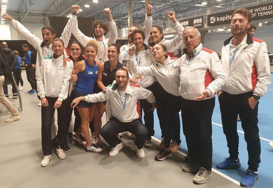 Live l'Italia in Fed Cup
