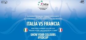 Appuntamrnto domani pomeriggio (mercoledì) con le prime parole delle protagoniste della prossima FedCup a Genova