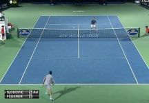 Video del Giorno: Incredibile scambio di Roger Federer contro Novak Djokovic a Dubai