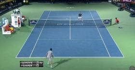 Gran scambio tra Djokovic e Federer a Dubai
