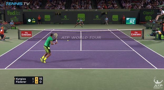 Video del Giorno: La splendida partita tra Federer e Kyrgios a Miami