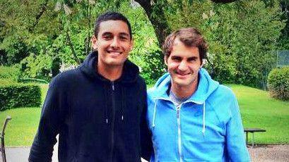 Roger Federer e Nick Kyrgios