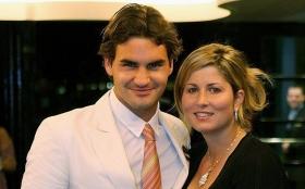 Roger Federer e l'appoggio di Mirka