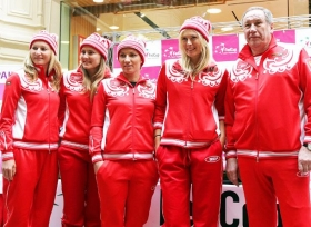 Makarova, Petrova, Kuznetsova e Maria Sharapova. Nessuna delle quattro sarà presente a Cagliari