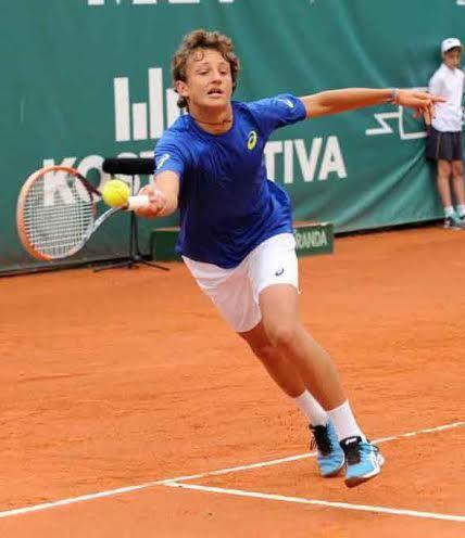 Federico Arnaboldi nella foto