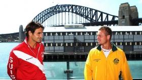 Roger Federer e Lleyton Hewitt