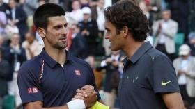 Novak Djokovic e Roger Federer