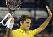 ATP Dubai: Più complicata la vittoria di Federer. Avanza Djokovic