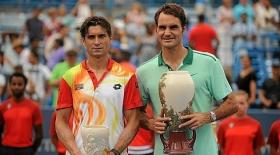 Roger Federer e David Ferrer