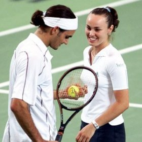 Roger Federer e Martina Hingis