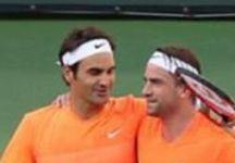 Michael Lammer chiude la carriera dopo aver giocato il doppio con Roger Federer ad Indian Wells