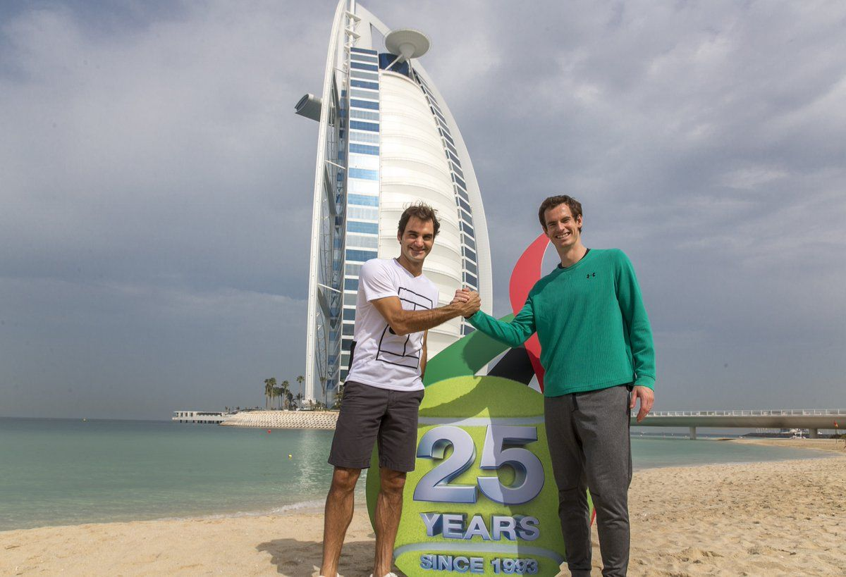 Roger Federer e Andy Murray