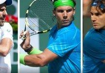 Novak Djokovic, Rafael Nadal e Roger Federer onnipresenti nel circuito ATP
